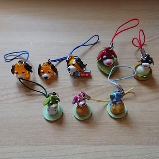 イトウエン(伊藤園)のおーいお茶のキャラクターストラップ(ノベルティグッズ)