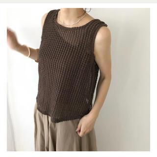 トゥデイフル(TODAYFUL)のwillfully crochet modification tank SET(タンクトップ)