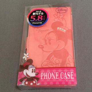 ディズニー(Disney)のiPhone X スマホケース ミニーマウス(iPhoneケース)