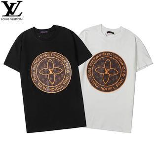LOUIS VUITTON - [2枚8000円送料込み]LV Tシャツ 半袖 男女兼用 05