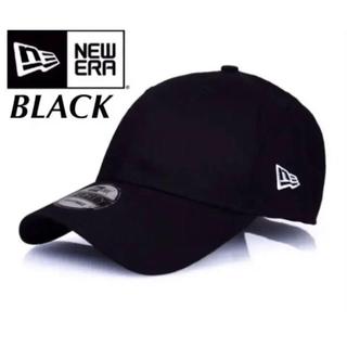 ニューエラー(NEW ERA)のニューエラ キャップ ベーシック 黒 ブラック アジャスタブル(キャップ)