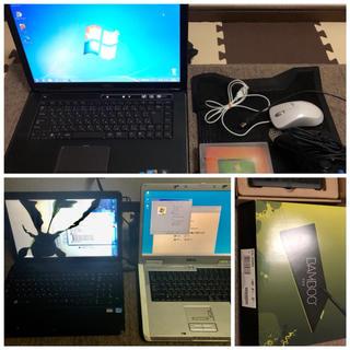デル(DELL)のDellノートパソコン本体 XPS 15 L501X i7  他にジャンク2台(ノートPC)
