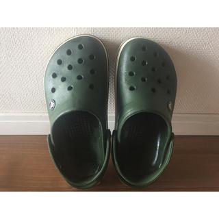 crocs - クロックス キッズ サンダル 22.5cm