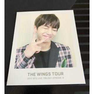 防弾少年団(BTS) - BTS wings チケットアルバム トレカ フォトカード テテ