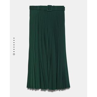 ZARA - 新品ZARA‼︎ベルト付きプリーツスカート