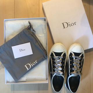 ディオール(Dior)のChristian dior スニーカー 38 最終値下げ 9月8日まで(スニーカー)