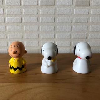 SNOOPY - スヌーピー フィギュア 指人形
