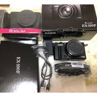 カシオ(CASIO)のCASIO カシオ EXILIM EX-100F コンパクトデジタルカメラ(コンパクトデジタルカメラ)