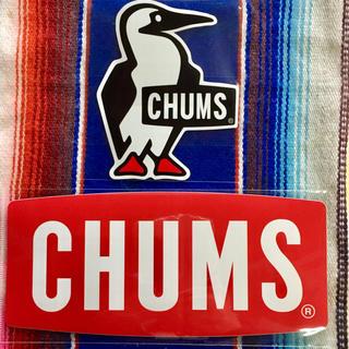 チャムス(CHUMS)の新品 CHUMS Sticker 2枚セット チャムス ステッカー a(その他)