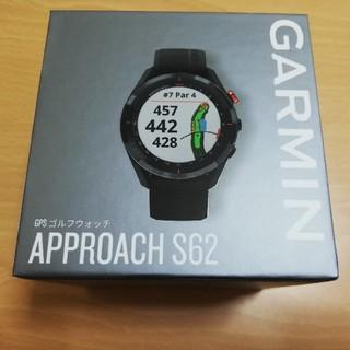 GARMIN - GARMIN(ガーミン) ゴルフナビ GPS Approach S62 ブラック