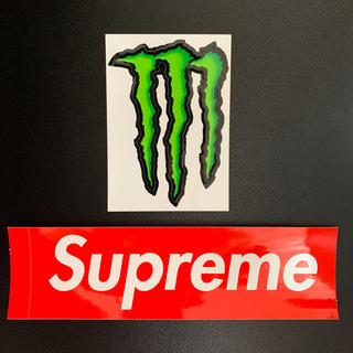 Supreme - シュプリーム&モンスター ステッカーセット