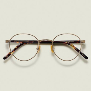 MOSCOT ZIS ジス Col. ANTIQUE GOLD/TOR 47