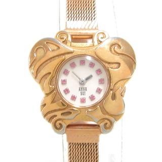 アナスイ(ANNA SUI)のアナスイ 腕時計美品  - Y150-0BE0(腕時計)