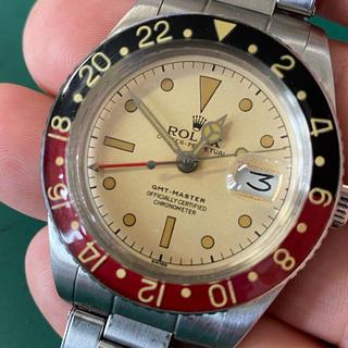 ROLEX - 即日発送 ジャンク カスタム 部品取 GMTマスター 6542タイプ パンナム