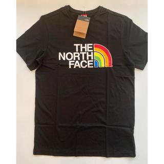 ザノースフェイス(THE NORTH FACE)の【Mサイズ】THE NORTH FACE プリントロゴ Tシャツ ブラック(Tシャツ/カットソー(半袖/袖なし))