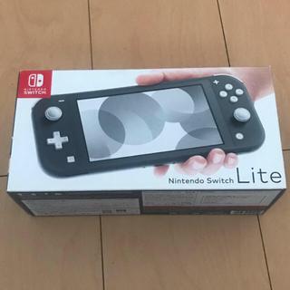 Nintendo Switch - 最終値下げ!ニンテンドースイッチライト本体 グレー 中古美品☆