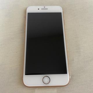 アイフォーン(iPhone)の【新品未使用】iPhone 8  64 GB ゴールド(SIMロック解除済)(スマートフォン本体)