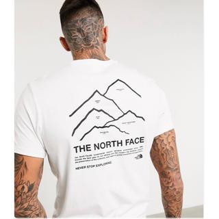 ザノースフェイス(THE NORTH FACE)の【Lサイズ】新品タグ付き ノースフェイス ピークスTシャツ ホワイト(Tシャツ/カットソー(半袖/袖なし))