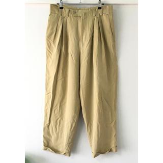 ジャンニヴェルサーチ(Gianni Versace)の最終値下げ ヴェルサーチ Versace メンズ パンツ 48サイズ ベージュ(スラックス)