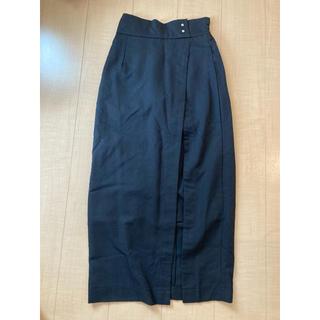 グレイル(GRL)の専用ページ GRL スリットタイトスカート(ブラック)(スニーカー)