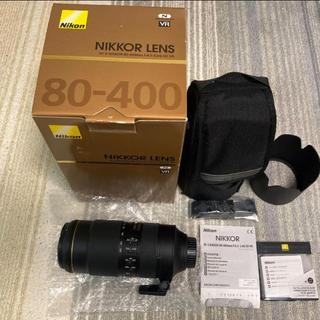 ニコン(Nikon)のAF-S NIKKOR 80-400mm f/4.5-5.6G ED VR(レンズ(ズーム))