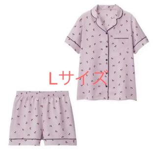 GU - GU サテン チェリー パジャマ
