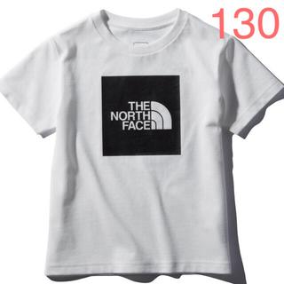 THE NORTH FACE - ザノースフェイス  ショートスリーブカラードビッグロゴティー  ホワイト 130