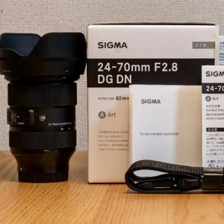 SIGMA - SIGMA 24-70mm F2.8 DG DN Art [ソニーEマウント]
