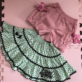 Shirley Temple - シャーリーテンプル 100 キュロット、スカート