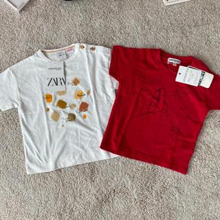 ザラキッズ(ZARA KIDS)のTシャツ 2枚セット(Tシャツ)