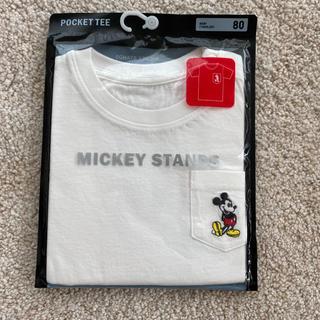ユニクロ(UNIQLO)のミッキー Tシャツ 80cm(Tシャツ)