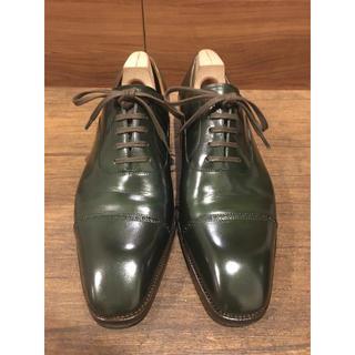 サンクリスピン 7.5 シューツリー クリーム付き 革靴 ビジネスシューズ