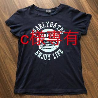 パーリーゲイツ(PEARLY GATES)のpearlygates レデースTシャツ サイズ1(Tシャツ(半袖/袖なし))