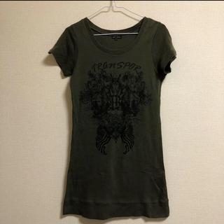 LAZY DAISY  レイジーデイジー Tシャツ ワンピース チュニック(Tシャツ(半袖/袖なし))
