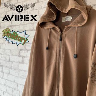 アヴィレックス(AVIREX)の【ミリタリー 】AVIREX アヴィレックス/フルジップパーカー ヘビーウェイト(パーカー)