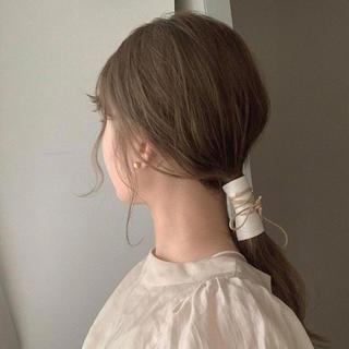 カスタネ(Kastane)のfake leather hair accessory(ヘアアクセサリー)