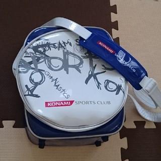 コナミ(KONAMI)の中古 ☆ コナミスポーツクラブ スクールバッグ ☆(レッスンバッグ)