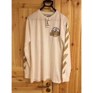 オフホワイト(OFF-WHITE)のMステでNEWS増田君着用のロンTモデル! off-whiteロンT(Tシャツ/カットソー(七分/長袖))
