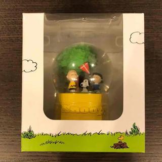 SNOOPY - 限定!【新品・未開封】スヌーピーミュージアム ウォータードーム 凧食いの木B