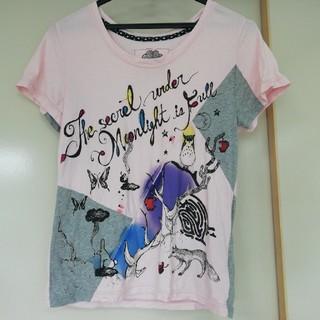 スカラー(ScoLar)のScolar パッチワーク Tシャツ(Tシャツ(半袖/袖なし))