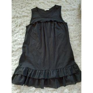 ピンクハウス(PINK HOUSE)の☆ピンクハウス 裾綿ローンフリルミニワンピース 美品☆(チュニック)
