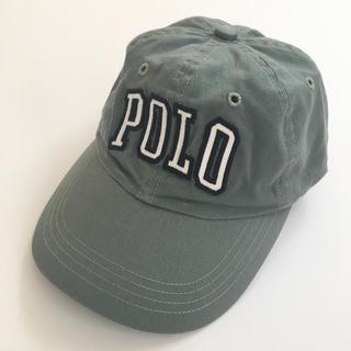 ポロラルフローレン(POLO RALPH LAUREN)の未使用 ポロラルフローレン   ジェットキャップ オリーブ(キャップ)