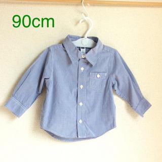 ベビーギャップ(babyGAP)のGap 90cm 男の子長袖シャツ (b90-23)(ブラウス)