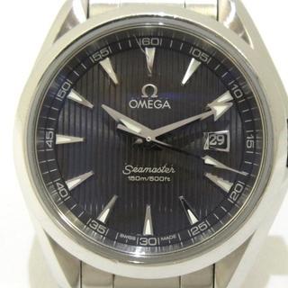 オメガ(OMEGA)のオメガ 腕時計 シーマスター アクアテラ SS(腕時計)