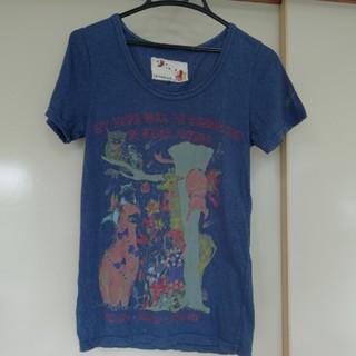 スカラー(ScoLar)のScolar姉妹PAVONINE メルヘン 動物柄Tシャツ(Tシャツ(半袖/袖なし))