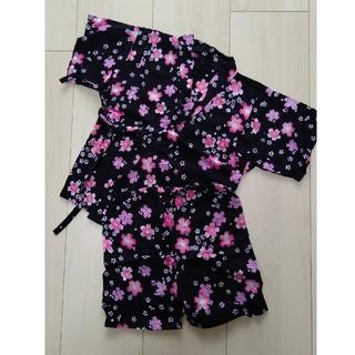 ニシマツヤ(西松屋)の桜柄 甚兵衛 size90(甚平/浴衣)