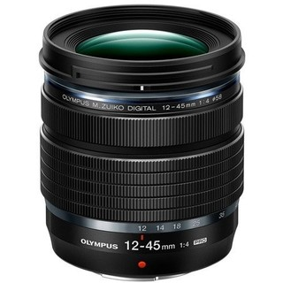 オリンパス(OLYMPUS)の新品未使用オリンパスM.ZUIKO 12-45mmPROメーカー保証(レンズ(ズーム))