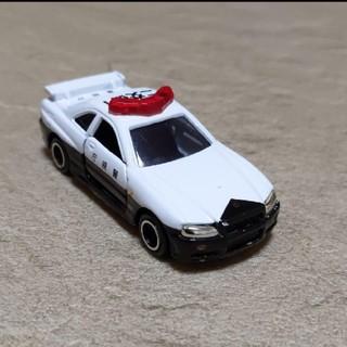 ニッサン(日産)のトミカ 廃盤 GT-R R34 パトカー(ミニカー)