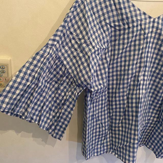 QUEENS COURT(クイーンズコート)のクィーンズコート 大きいサイズ トップス サイズ5 レディースのトップス(シャツ/ブラウス(長袖/七分))の商品写真