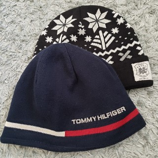 トミーヒルフィガー(TOMMY HILFIGER)のトミーヒルフィガーニット帽(ニット帽/ビーニー)